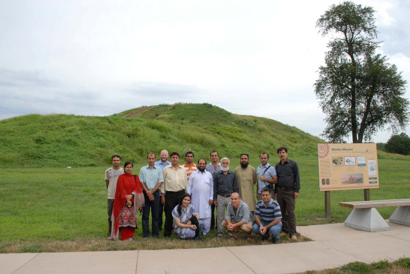 Participants of the Cultural Heritage Workshop at Cahokia
